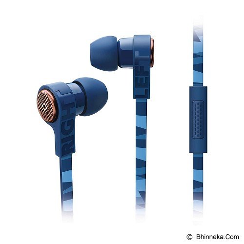 PHILIPS Earphone With Mic [SHE9005 Bl] - Earphone Ear Monitor / Iem